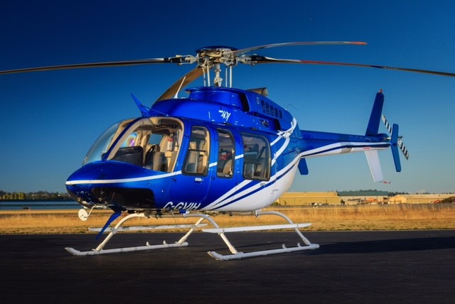 Bell 407 Helicopter Charter